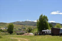 View from Holiday Hills RV Park